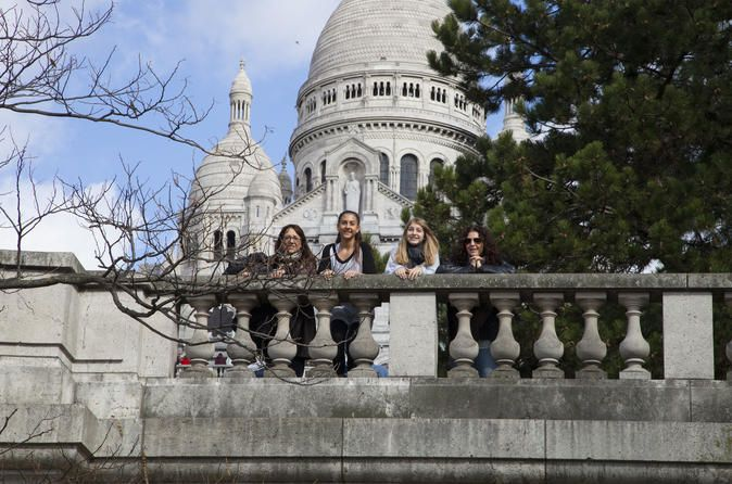 Professional Photo Shoot Tour in Paris' Montmartre Enjoy a 2-hour photo portrait sessions in Paris. Stroll around the Montmartre area with your professional photography guide. Capture the memories on 300-400 photos of you near such places as the Basilica of Sacre-Coeur and Moulin Rouge.Visit the Montmarte district with your professional photographer guide on this 2-hour tour. Stroll by landmarks such as the Basilica of Sacre-Coeur, the Wall of Love, Moulin Rouge, the Dalida st...