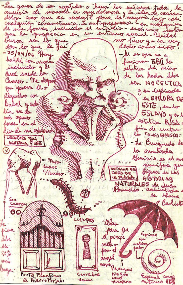 Guillermo Del Toro Notebooks