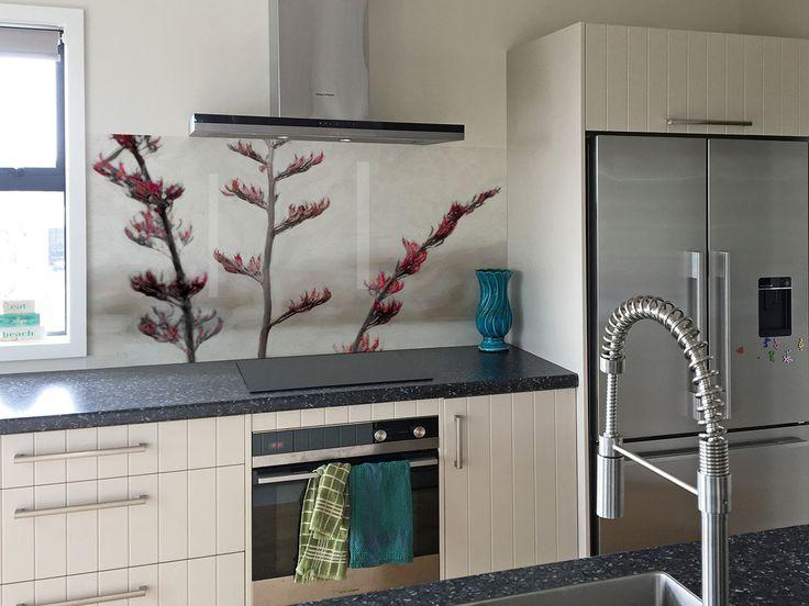 64 best printed 'image on glass' kitchen splashbacks / backsplash