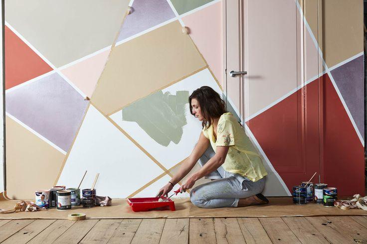 18 best stilleven verf images on pinterest chalk paint color palettes and colours - Kleuren muur toilet ...