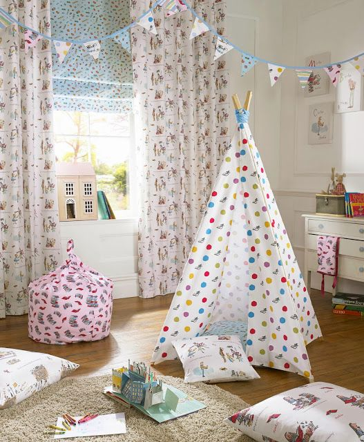 Just launched: Roald Dahl's 'Fantabulous Fabrics' | ChicLittleBaby