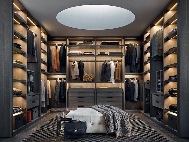 Poliform senzafine closet design