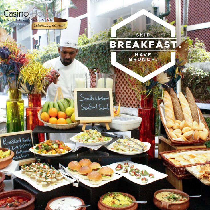 Make brunch the most important meal of the day at Casino Hotel, Kochi. From stuffed polenta to Singaporean Chilly Pork, we've got your Sunday covered. Timings: 11:30 am – 3:00 pm. http://www.cghearthcasinohotel.com/restaurants.html