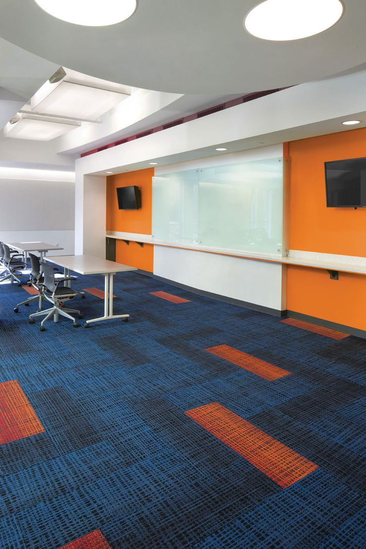 Harley color carpet tiles - Kinesthetic Tile 12by36 Lees Commercial Modular Carpet Mohawk Group