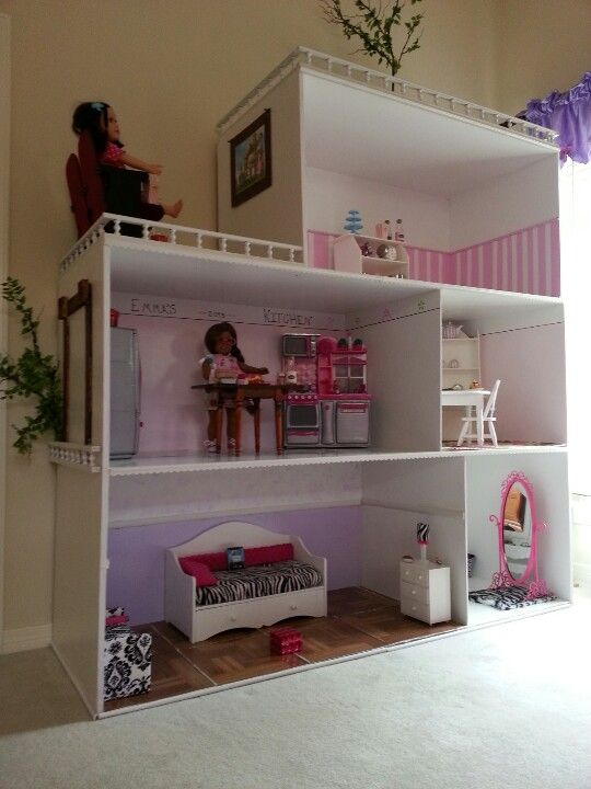 211 Best American Girl Doll House And Furniture Ideas Images On