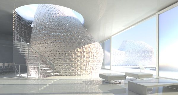 3ders.org - Emerging Objects 3D prints house out of salt   3D Printer News & 3D Printing News