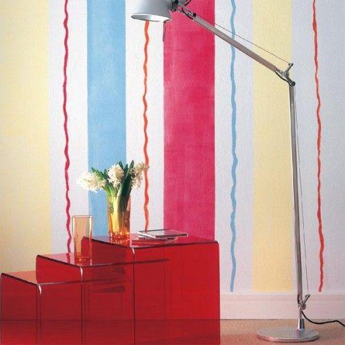 διακόσμηση τοίχων με ρίγες5