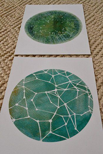 DIY Constellation Art