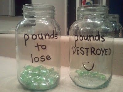 diy: Weight Loss Visual Motivation