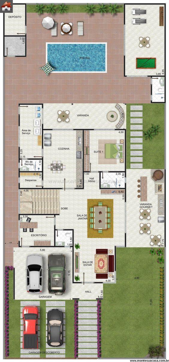14 melhores imagens de planta da casa the sims 4 no pinterest for Planos casas sims