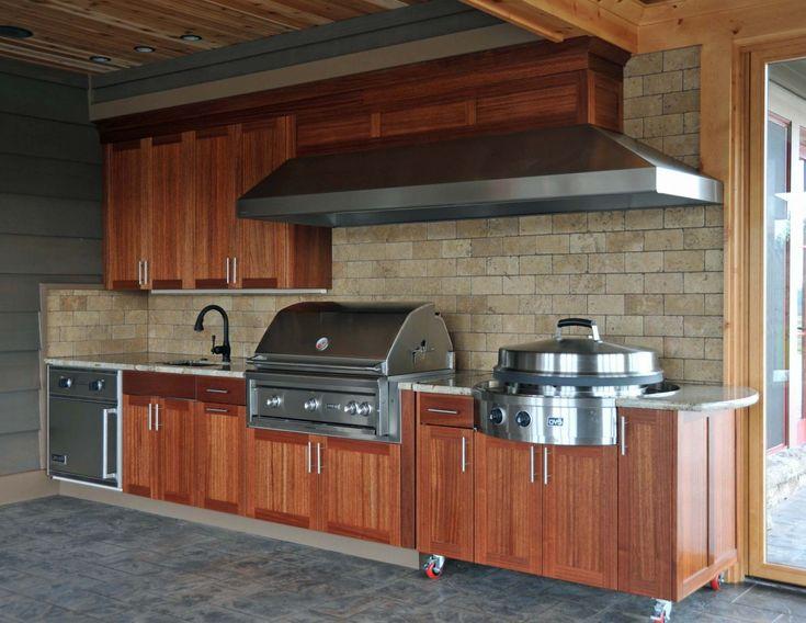 Diy Tile Countertop 10 Diy Outdoor Kitchen Design Maple ...