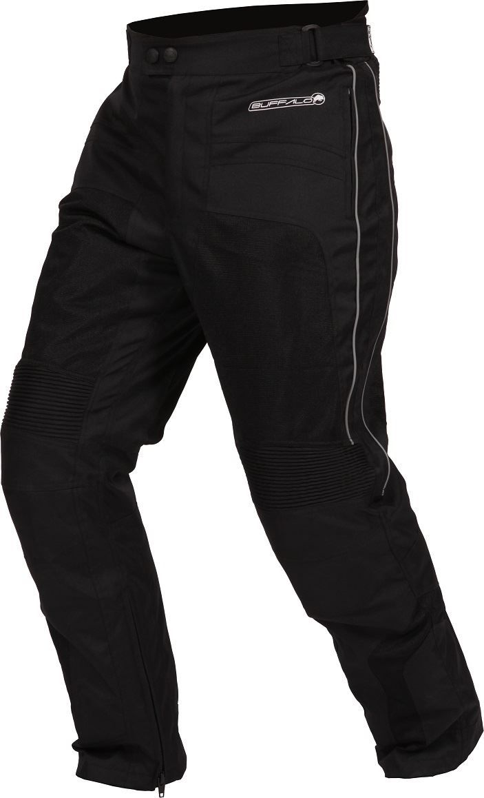 Buffalo Coolflow ST Motorcycle Trousers Black, - playwellbikers.co.uk - http://playwellbikers.co.uk/trousers/buffalo-coolflow-st-motorcycle-trousers-black/
