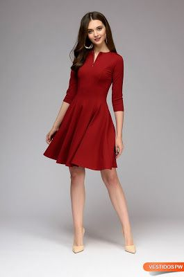 6d7dd40ec Vestidos Rojos para Boda Vestido Rojo Para Boda, Boda Roja, Vestidos De  Fiesta De