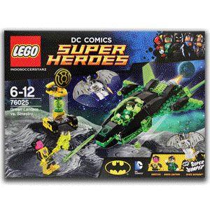 LEGO 76025 Green Lantern vs Sinestro :    Green Lantern, Space Batman & Sinestro  www.bukalapak.com/indosoccerstarz #lego #legosuperheroes #greenlantern #batman #legomurah #spaceship #indosoccerstarz #mainanlego #tokomainan
