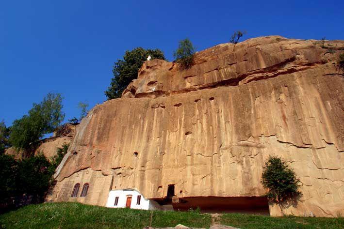 The Stone Ravens Monastery, Argeș, Romania