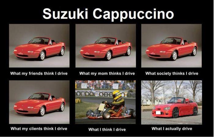 Suzuki Cappuccino Meme