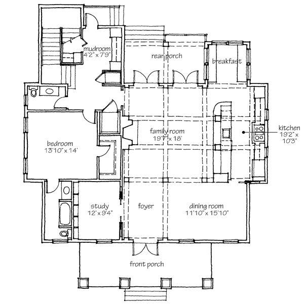 61 best houses images on Pinterest   Dream house plans, Open floor ...