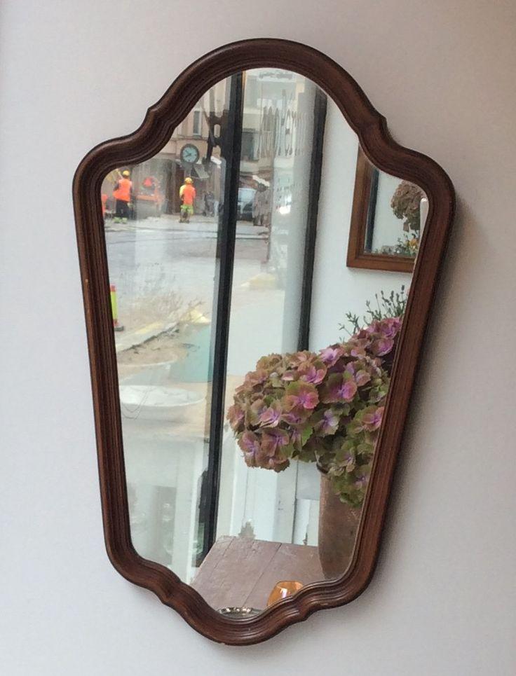 puukehyksinen peili . 35x56cm . @kooPernu