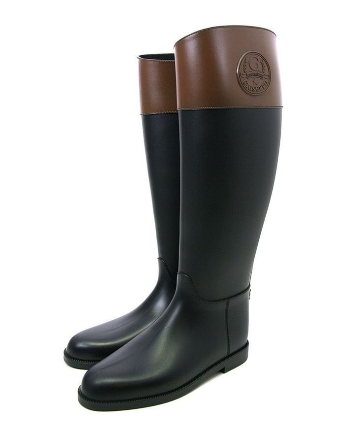 Negro wellington boots in black - Gioseppo