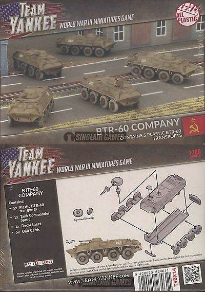 Flames of War 113523: Team Yankee: Soviet: Btr-60 Transport Company (Tsbx14) New -> BUY IT NOW ONLY: $41.5 on eBay!