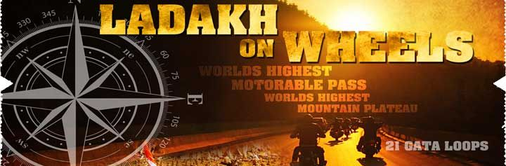 Location: New Delhi to Ladakh Dates: From 30th May – 13th June, 27th June - 11th July, 25th July - 8th Aug, 29th Aug – 12th Sep, 2015  Choose between the comfort of a SUV Or the thrill of a Motorbike ride. Our Signature motorbike tour is specially designed for people who want to see the beauty of Leh – Ladakh at a relaxed pace over a period of two (2) weeks.  Buy your tickets on Kyazoonga! http://www.kyazoonga.com/Sports/the-dream-ride-to-leh-ladakh-motorcycle-tour/1188/4#.VSuLkGeqZJQ