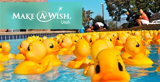 MAKE-A-WISH® UTAH Rubber Ducks! | Very Jane Adorable rubber ducks make wishes come true and enter you for a chance at the grand prize of a 2-year lease, maintenance included, on a 2013 Hyundai Santa Fe valued at $25,000! Sponsoring a Make-A-Wish Utah rubber duck on VeryJane.com extends your donation with a $5 match from Very Jane, up to $3,000.