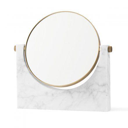 Menu Kosmetikspiegel Pepe Marble Mirror brass, white