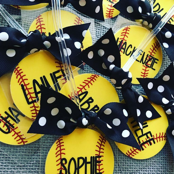 Softball season!  We have your perfect team party gifts!