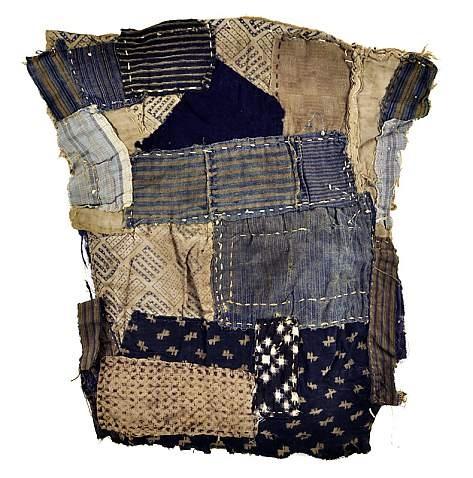 Japanese Vintage Boro Sleeve Fragment...or Tattered rags...