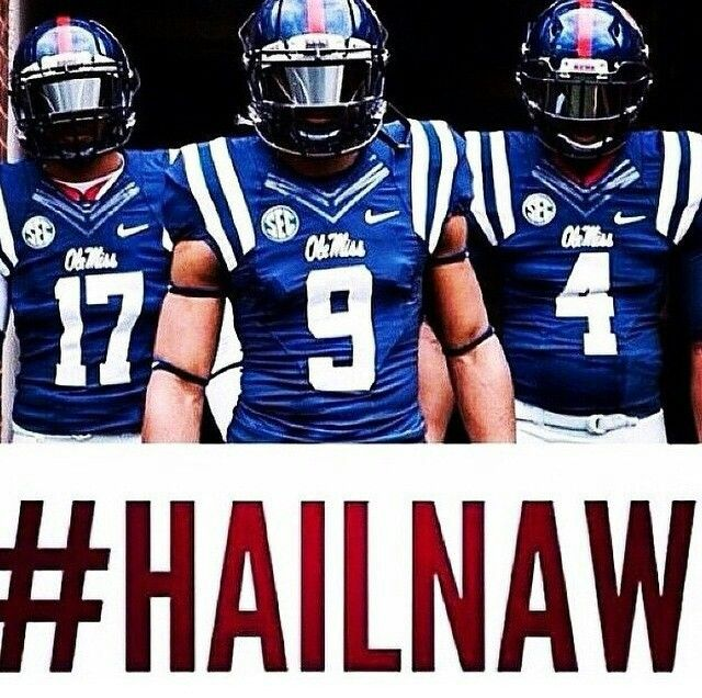 Egg Bowl 2014! We are the champions! Hotty Toddy Ole Miss Rebels!!! :) 31-17