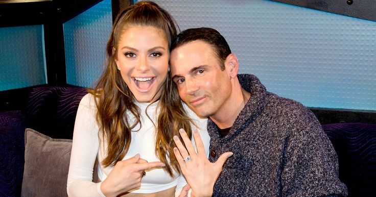 E! News host Maria Menounos is engaged to her longtime boyfriend, Keven Undergaro, after he proposed during her Wednesday, March 9, interview on 'The Howard Stern Show'