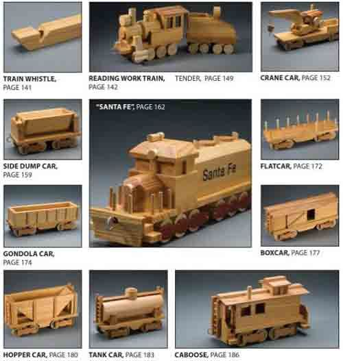 Wooden toy plans