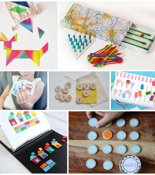 10 DIY Travel Games For Kids