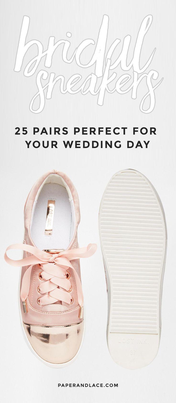 bridal sneakers!                                                                                                                                                                                 More