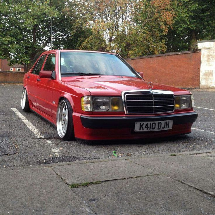 Mercedes 190 from UK - Mercedes Stanceworks - Facebook