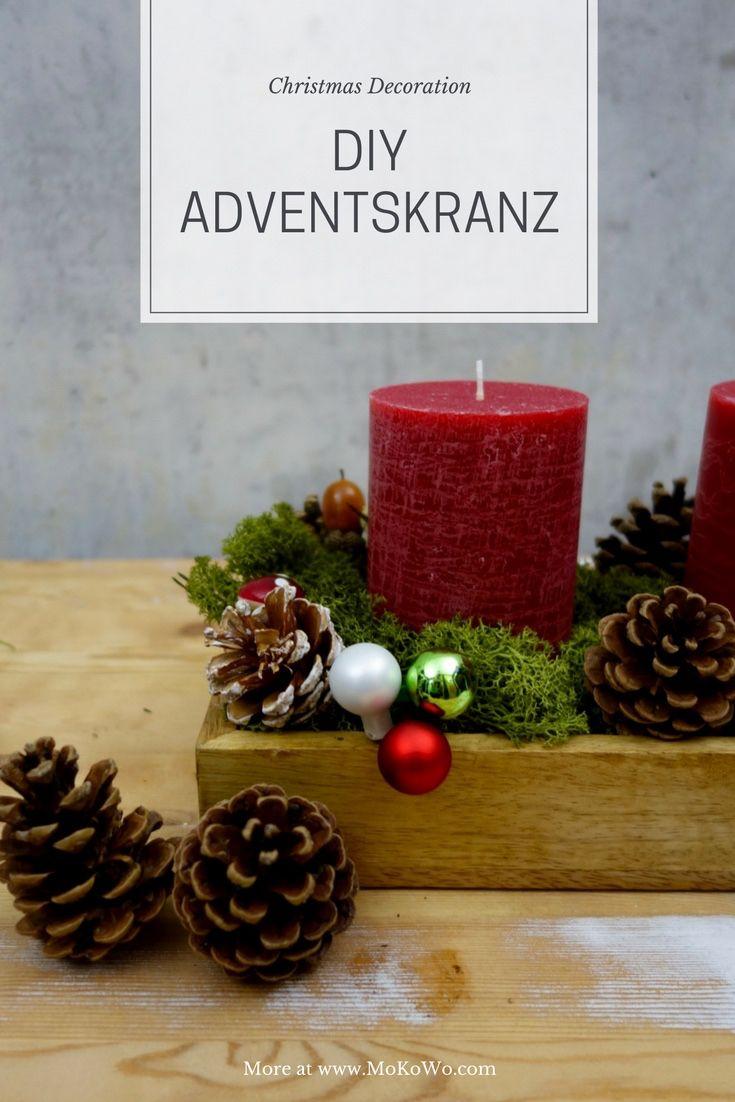 Ideen Aussergewohnliche Adventskranze Diy Mokowo Wohnblog