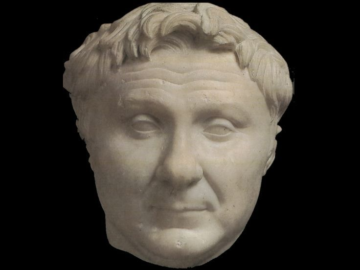 Ritratto di Gneo Pompeo Magno, I sec. a.C., marmo, Carlsberg Glyptotek, Copenaghen, Danimarca.