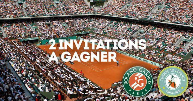 GDF SUEZ vous offre 2 invitations pour Roland Garros 2014 http://www.llllitl.fr/2014/05/gdf-suez-roland-garros-2014-partenariat-invitations/ #RolandGarros #Marketing #Paris #Tennis #Femmes #Feminin #RG14 #Invitations #Concours #GDF #SUEZ