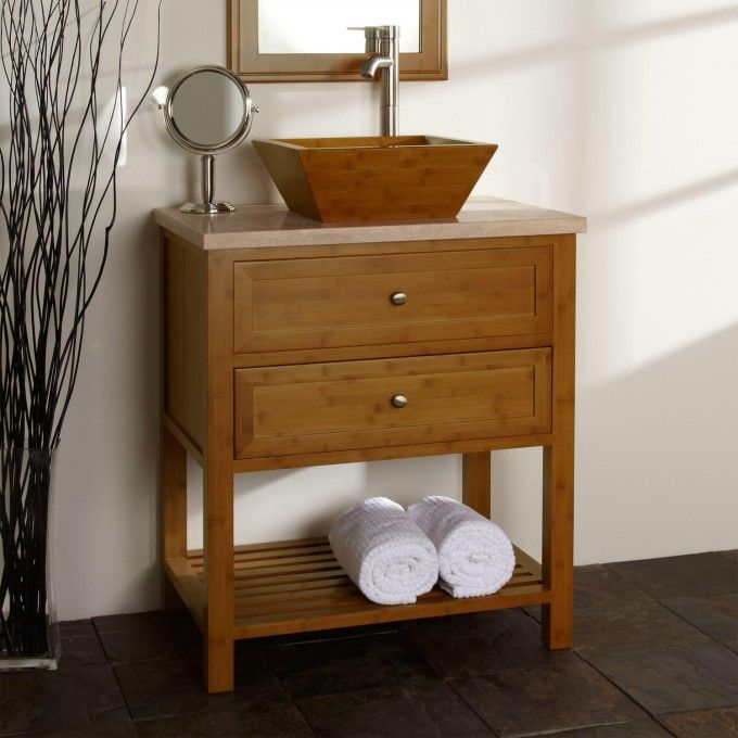 Upcycled Bathroom Ideas: 1000+ Ideas About Vessel Sink Vanity On Pinterest