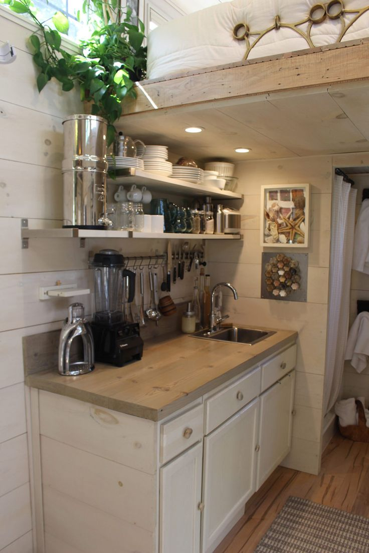 121 best images about Tiny House Kitchens on Pinterest