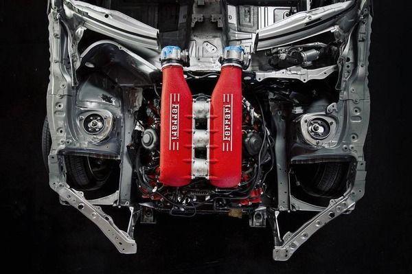 トヨタ 86 にフェラーリの570馬力V8エンジン…プロジェクト進行中 全画面画像3枚目