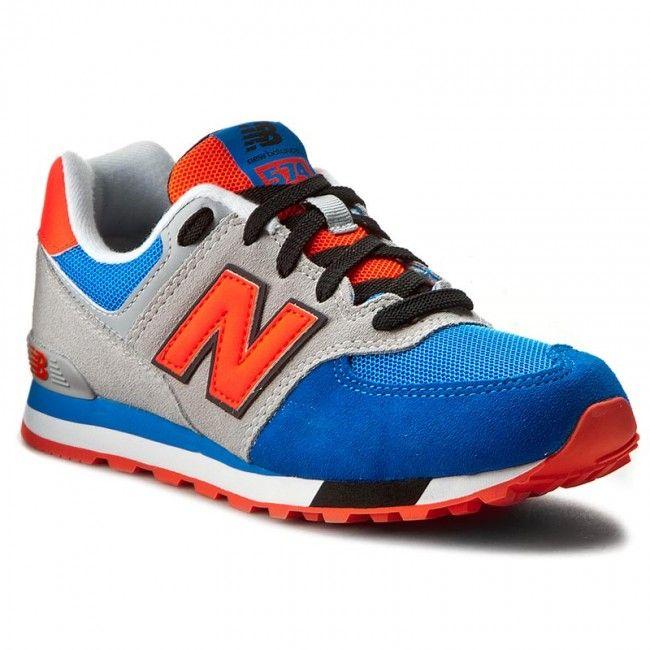 Sneakersy NEW BALANCE - KL574WJG Kolorowy Szary