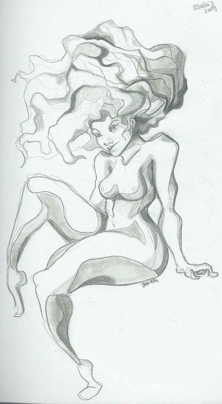 Schiele's Lady!