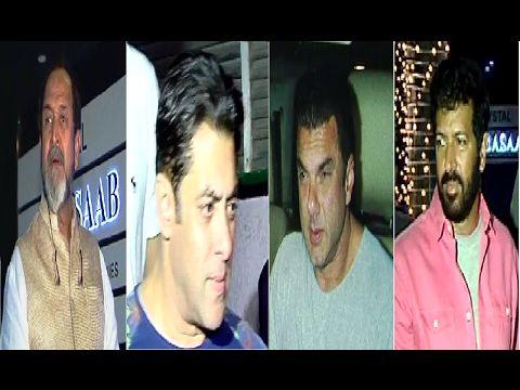 TUBELIGHT wrap up party | Salman Khan, Sohail Khan, Mahesh Manjrekar, Kabir Khan.