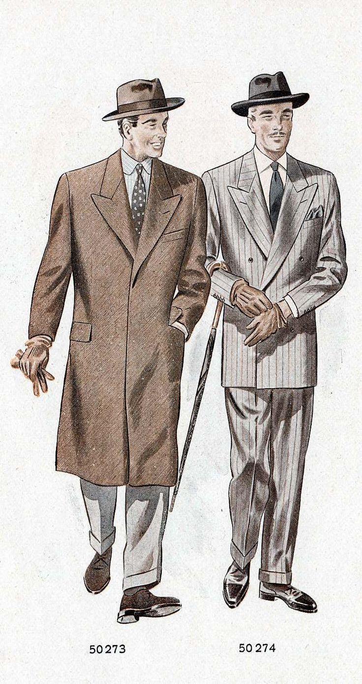 24 best 1950 Die elegante Herren-und Damenmode images on Pinterest ...