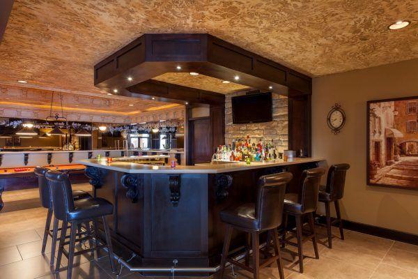 Full wet bar and games room. 3221 Vineyard View Drive. Kelowna ...