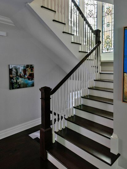 Pelham Shingle Style For A Modern Family, Traditional Staircase, New York