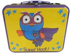Hoot Hoot!  Giggle and Hoot - Superhoot Storage Tins