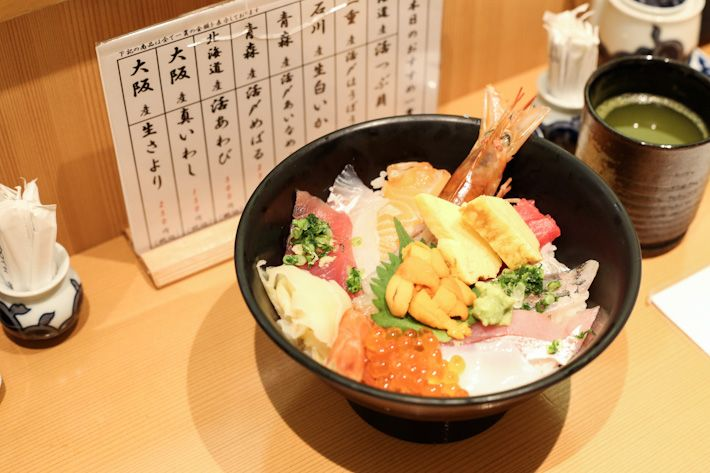 Budget, Tsukiji-sourced sushi Uoriki Kaisen Sushi B1 Tokyu Department Store 2-24-1 Shibuya Tel: +81 03 5428 3813 Daily: 10am – 9pm Nearest Station: Shibuya