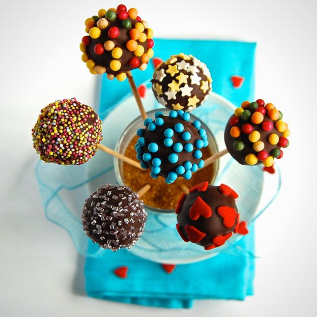 Fake Cake Pops | 100 Things You Can Eat On A Stick